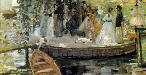 Roeien in de schilderkunst