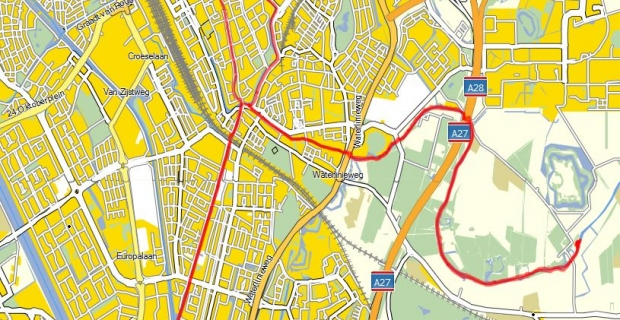 Toertocht Utrecht 27 augustus
