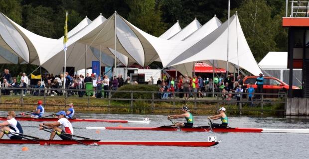 World Rowing Masters Regatta: een wedstrijdverslag