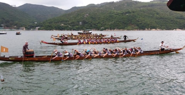 Drakenbootraces in Hong Kong