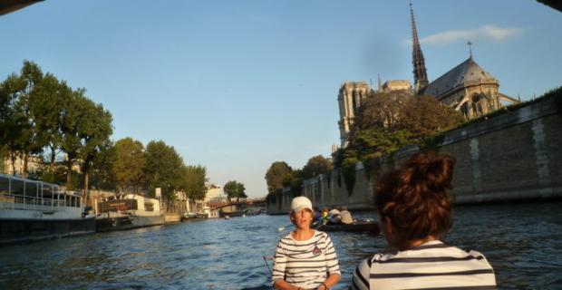 Toertocht over de Seine