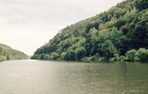Skiffen in Dreisbach