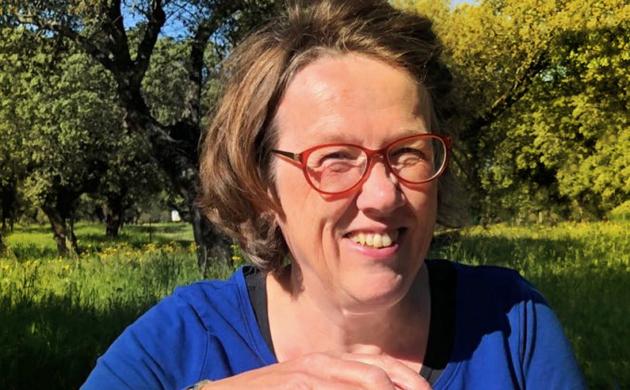 Vanuit de stuurstoel: secretaris Martine de Jong