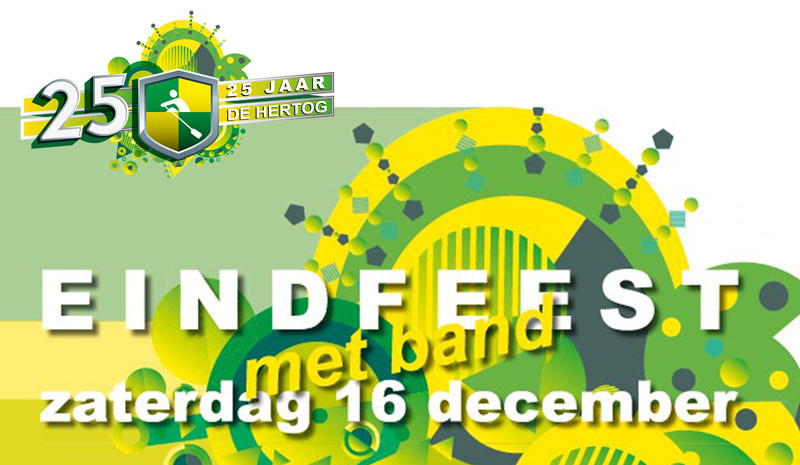 Jubileum Eindfeest: Save the date!